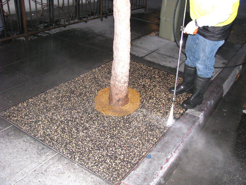 Tree Well Maintenance Service San Diego, Porous Tree Well Install San Diego